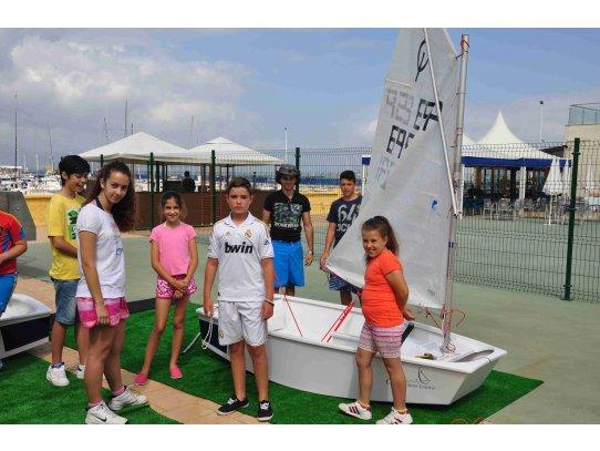 Imagen de ESCUELA NAUTICA DE VERANO JULIO 2013 (I)   Club Marítimo Linense